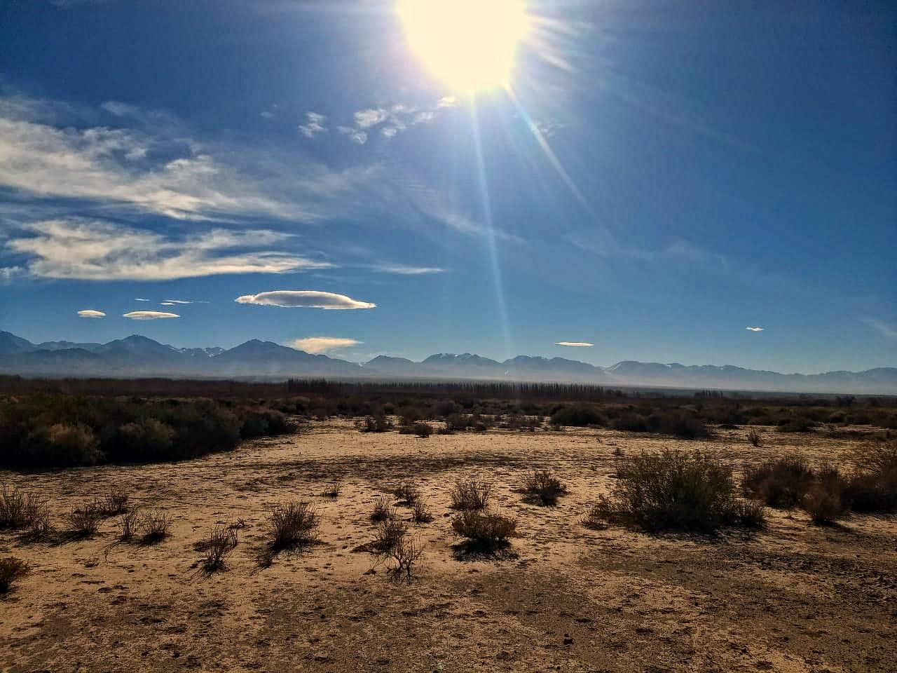 Sitio elegido para la observación pública del eclipse total de Sol del 2 de julio de 2019. El mismo se encuentra ubicado sobre ruta 412, al sur de la localidad de Bella Vista.